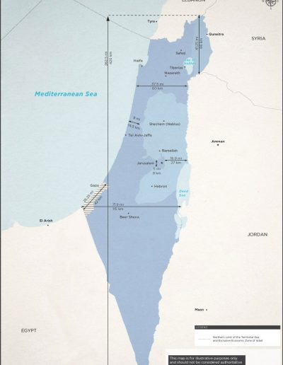 Israel Size Dimension