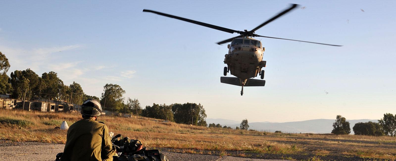 IDF heli-borne rescue operation